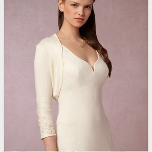 Jenny Yoo Collection Bridal Bolero Shrug Sweater